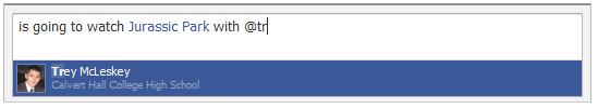 Facebook Tagging