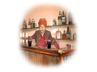 Mechanical Turk at a bar