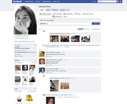 Facebook in 2008