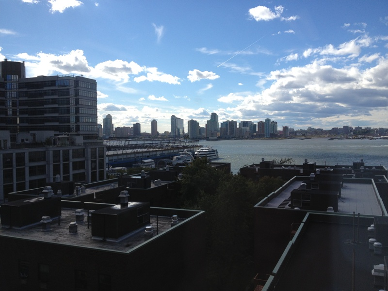 View of the Hudson from Our Office